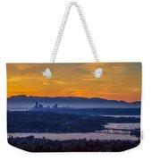 Gateway To Seattle Weekender Tote Bag