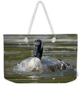 Wet And Wild - Canadian Goose Weekender Tote Bag