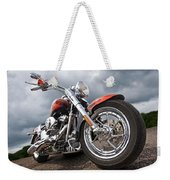 Wet And Wild - Harley Screamin' Eagle Reflection Weekender Tote Bag