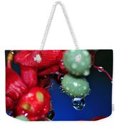 Wet Berries Weekender Tote Bag by Kaye Menner