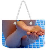 Wet Feet Weekender Tote Bag