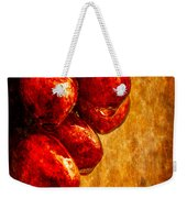 Wet Grapes Three Weekender Tote Bag