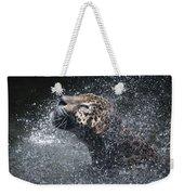 Wet Jaguar  Weekender Tote Bag