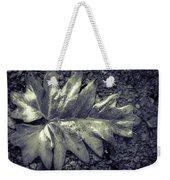 Wet Leaf Weekender Tote Bag