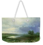 Wet Meadow Weekender Tote Bag