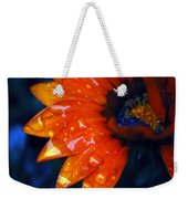 Wet Petals Weekender Tote Bag