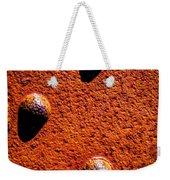 Wet Rivets  Weekender Tote Bag by Bob Orsillo