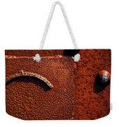 Wet Rust Weekender Tote Bag