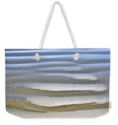 Wet Sand Texture On Ocean Shore Weekender Tote Bag