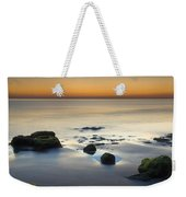 Wet Sunset Reflections Weekender Tote Bag