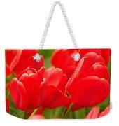 Wet Tulips Weekender Tote Bag