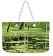 Wetland Reflection Weekender Tote Bag