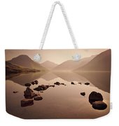 Wetlands Mornings Weekender Tote Bag by Evelina Kremsdorf