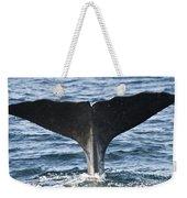 Whale Diving Weekender Tote Bag