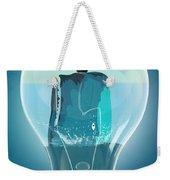 Whale Lights  Weekender Tote Bag