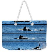 Whale Of A Time Weekender Tote Bag