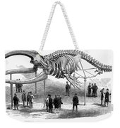 Whale Skeleton, 1866 Weekender Tote Bag