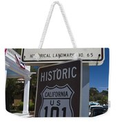 Whaley House Us Hwy 101 Historic Route Weekender Tote Bag