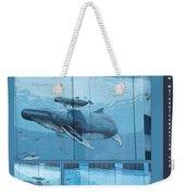 Whaling Wall 42 -  East Coast Humpbacks - Original Painting By Wyland Weekender Tote Bag