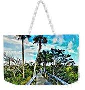 What A Beautiful Boardwalk Weekender Tote Bag