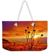 What A Morning Weekender Tote Bag