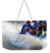 White Water Rafting What A Rush Weekender Tote Bag