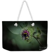 What Do You Do On My Flower Weekender Tote Bag