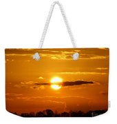What Do You See Sunset Weekender Tote Bag