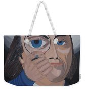 What Have You Done Weekender Tote Bag