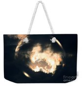 What Holds The Sky Up Under The Wind Weekender Tote Bag