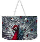 What If - A Fanciful Peacock Weekender Tote Bag