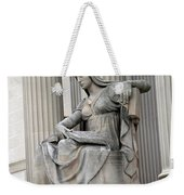 What Is Past Is Prologue Statue At National Archives -- 2 Weekender Tote Bag