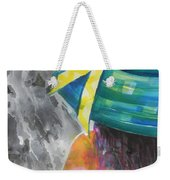 What Lies Ahead Series....chaos  Weekender Tote Bag by Chrisann Ellis