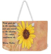 What Sunflowers Do Weekender Tote Bag