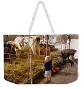 Hi Cows Or What The County Fair Is All About Weekender Tote Bag