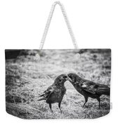 What The Raven Said Weekender Tote Bag by Susan Capuano