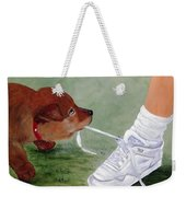What Ya Gonna Do Weekender Tote Bag by Kenny Francis