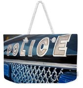 Whatcha Gonna Do When They Come For You? Weekender Tote Bag by Julie Brugh Riffey