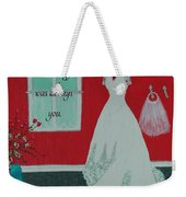 Whatever I Was Looking For Was Always You - Rumi Quote Weekender Tote Bag