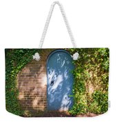 What's Behind The Gate? 3 Weekender Tote Bag