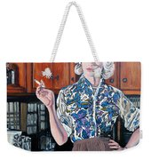 What's For Dinner? Weekender Tote Bag by Tom Roderick