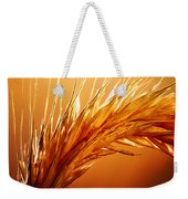 Wheat Close-up Weekender Tote Bag by Johan Swanepoel