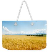 Wheat Field Near D8, Brunet, Plateau De Weekender Tote Bag