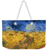 Wheat Field With Crows Weekender Tote Bag