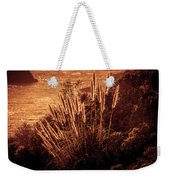 Wheat Grass Weekender Tote Bag