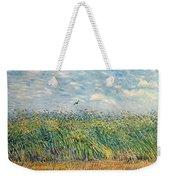 Wheatfield With Lark Weekender Tote Bag