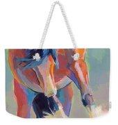 Whee Weekender Tote Bag by Kimberly Santini