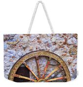 Wheel And Sun In Taromina Sicily Weekender Tote Bag