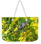 Wheel Bug  Weekender Tote Bag