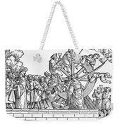 Wheel Of Fortune Weekender Tote Bag